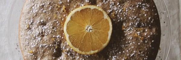 Gluten Free Orange Spice Darjeeling Cake