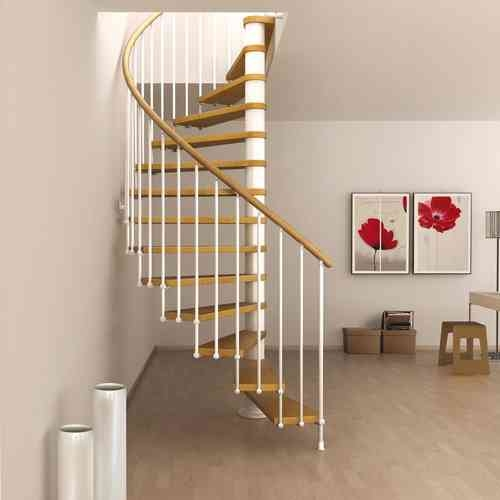 Space Saving Spiral Staircase Type Toscana L00L Stairs | Types Of Spiral Staircase | Divine | Elegant | Exterior | Free Standing | Aqua