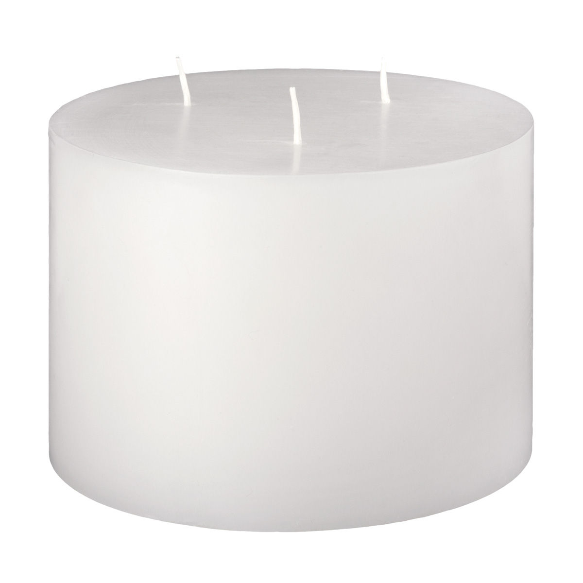 6x4 White 3 Wick Pillar Candle