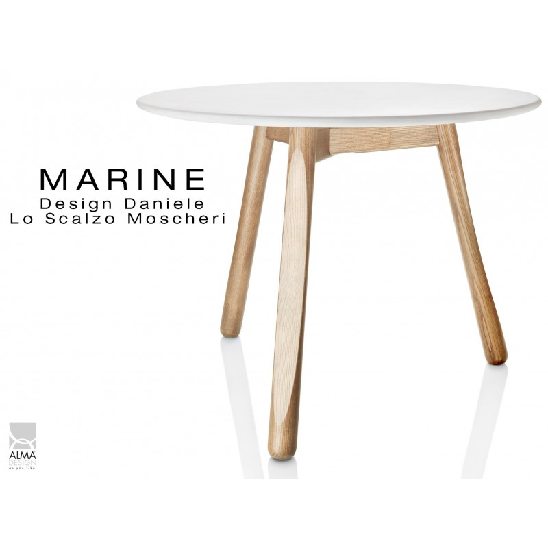 table ronde pour salle a manger marine