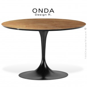 table ovale design ova pied central