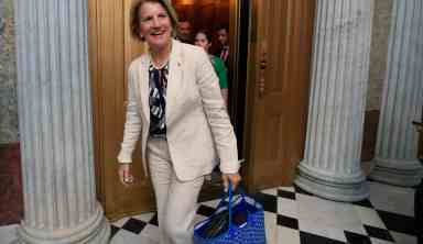 As a key vote on repealing Obamacare, Senator Capito votes to open debate on the bill