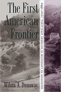 The First American Frontier book cover.
