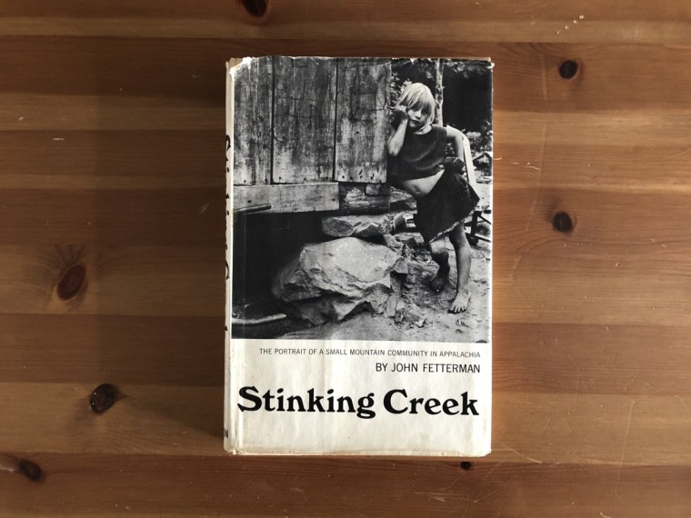 Stinking Creek book cover.