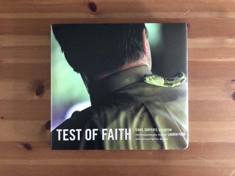 Test of Faith book cover.