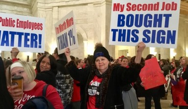 Teacher Walk-Out Will Continue Monday, Union Leaders Say