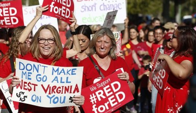 Lesson Learned: Teachers Across the Country Follow West Virginia's Lead