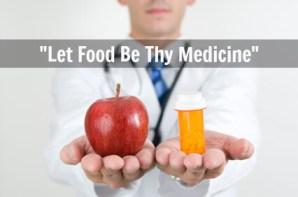 Image result for let food be thy medicine