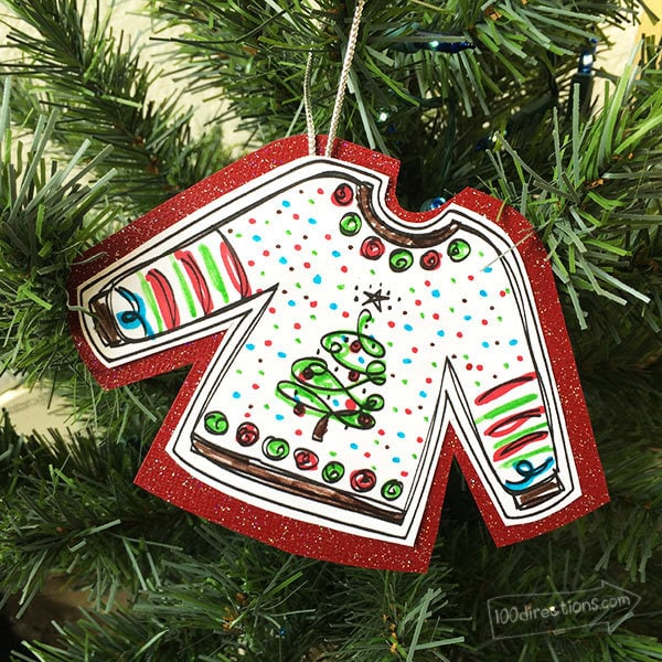 Ugly Sweaters Printable For Your Ugly Sweater Party 100