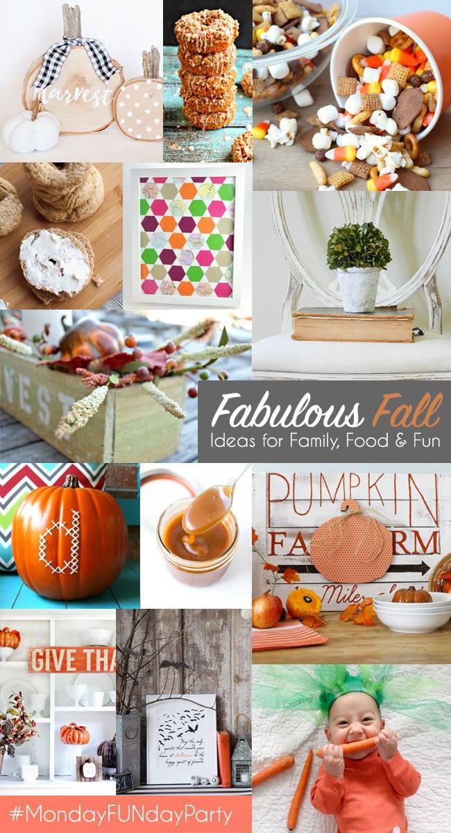 Monday FUNday Fabulous Fall Ideas