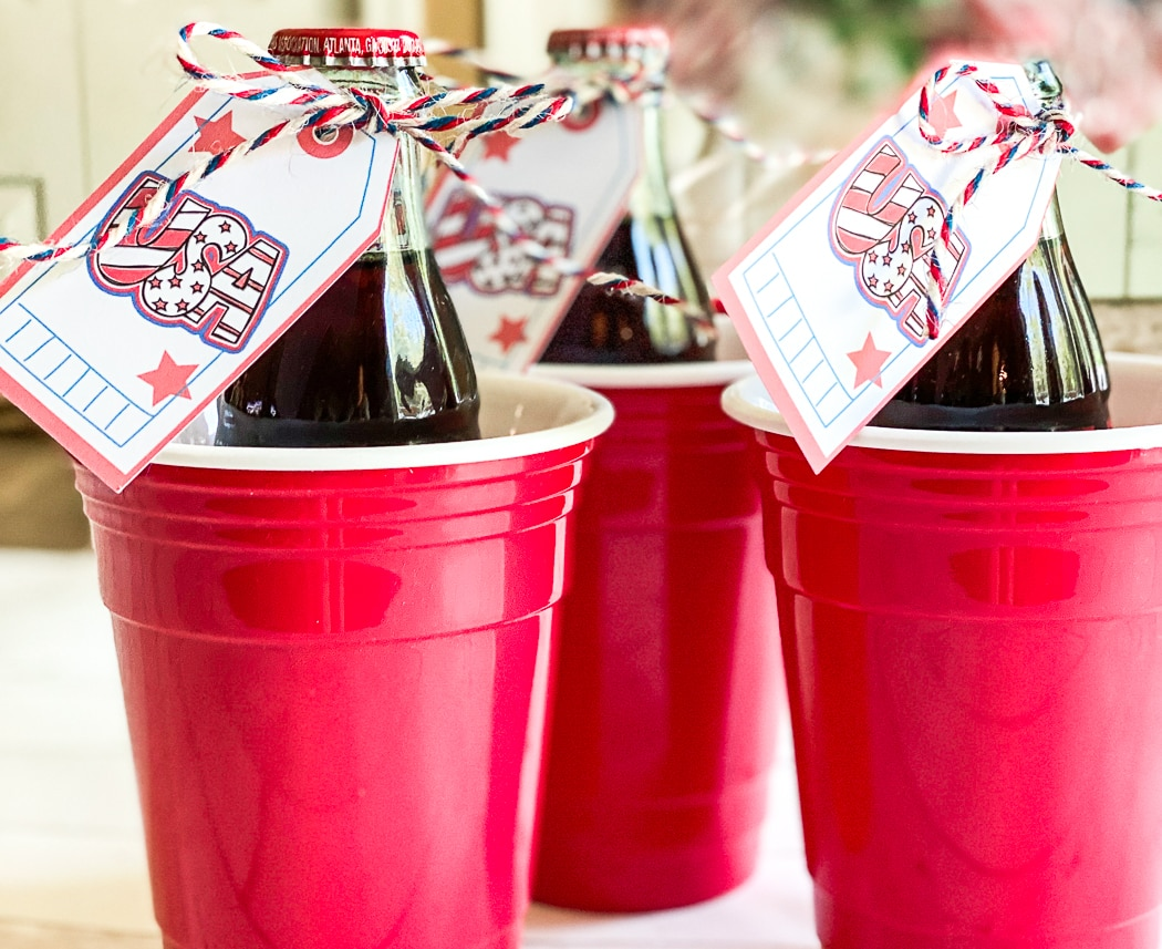 Make Your Own Patriotic Party Favor Tags With Your Cricut