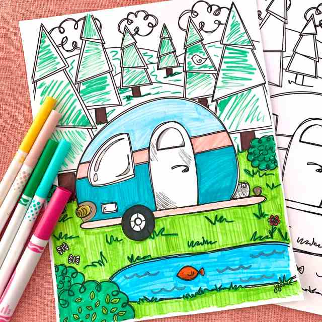Free Family Fun Camping Printables - 21 Directions
