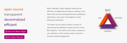 brave ico- basic attention tokens