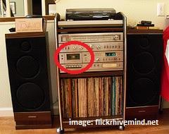 cassette console