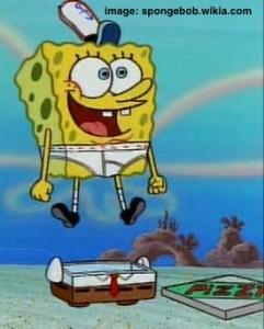 spongebob pizza