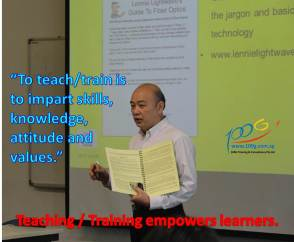 Training empowers learners