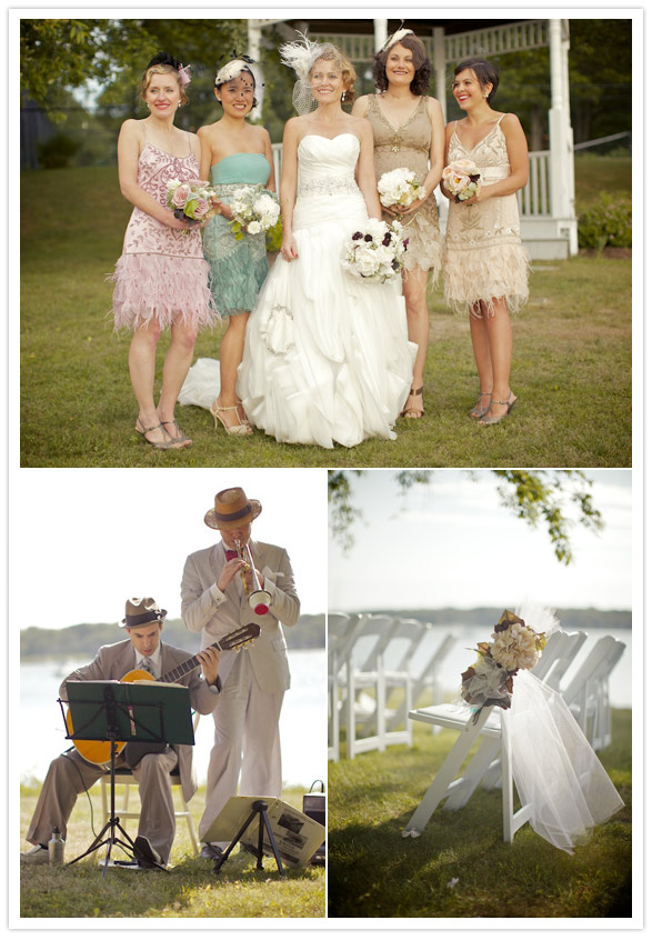 great gatsby wedding