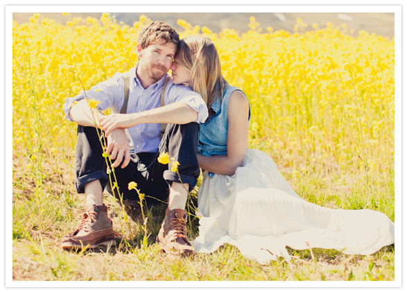 prairie engagement session