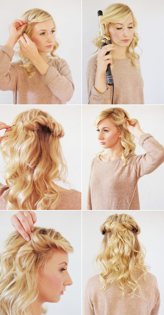 Loose halo hair tutorial | 100 Layer Cake