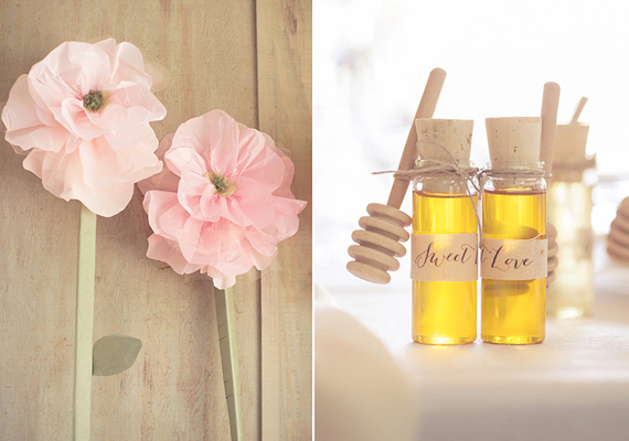 honey wedding favors | photo by This Love of Yours | 100 Layer Cake