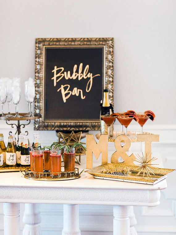 New Years Bridal Shower Inspiration NYE Party 100