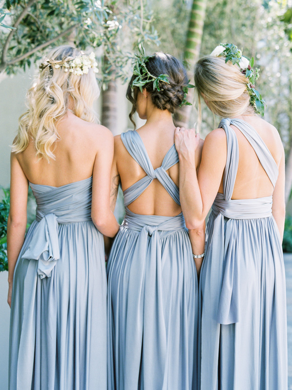 David s Bridal Versa convertible bridesmaid dress   Sponsored Post     Convertable Versa Dress in Mercury by Davids Bridal styled by 100 Layer  Cake   Photo Braedon