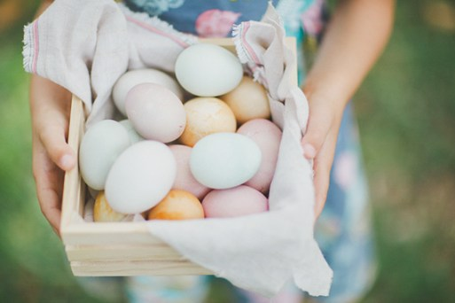 Natural egg-dying playdate | By The Robinsons | 100 Layer Cakelet