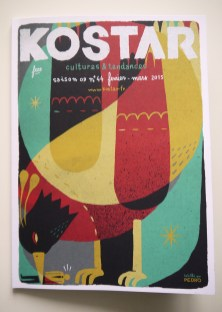 Couverture & habillage du magazine Kostar