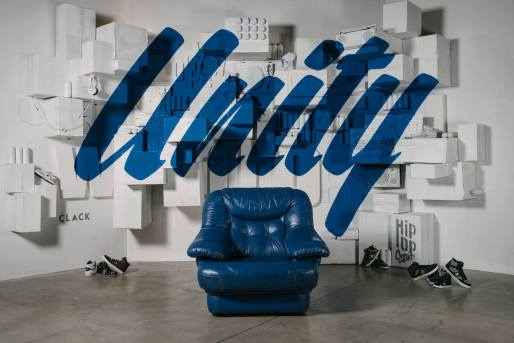 Création du FOTOKALL « Unity » by The Blind x Wide x NYY Footwear x CLACK pour HIP OPsession 2015