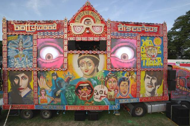 BOLLYWOOD DISCO BUS