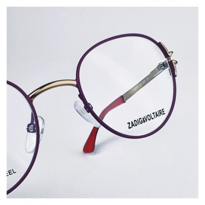 Zadig & Voltaire VZJ024-V OPTIQUE1010 FACHES THUMESNIL Réf 16824
