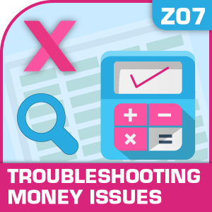 Z07-Troubleshooting Money Issues, Troubleshooting Money Issues, Financial Planning, Funding your business, Troubleshooting Money Issues, Troubleshooting Money Issues excel