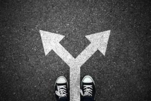 Different decision