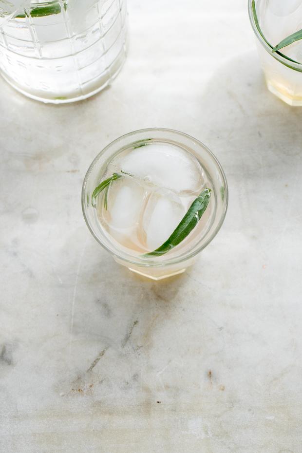 Homemade Tarragon Soda