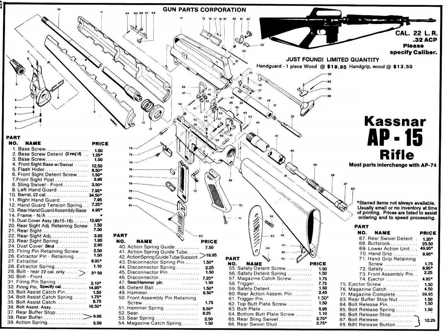 Exploded View Ar 15 Parts Amp List Diagrams