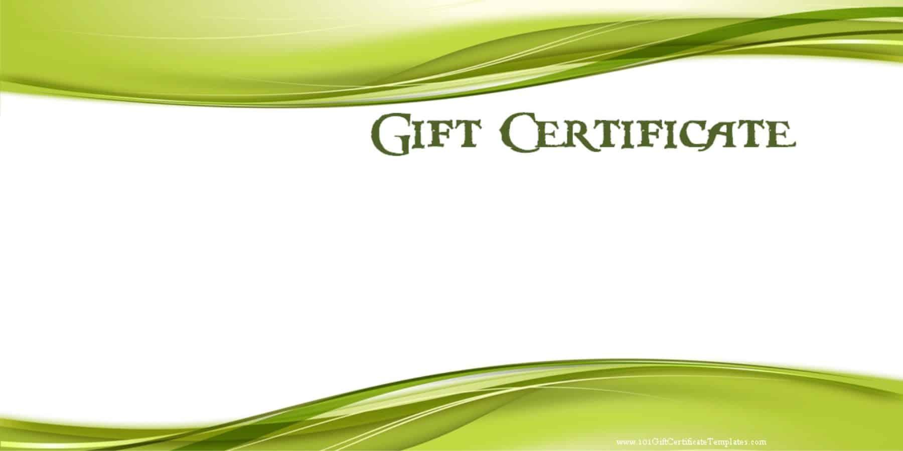 Doc Attendance Certificate Template Free Doc Certificates – Ms Word Gift Certificate Template