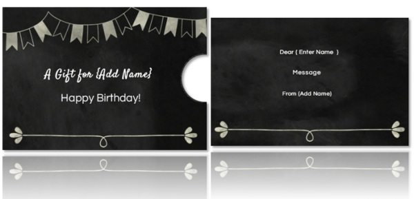 Free DIY Custom Gift Card Holders