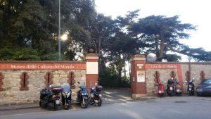 L'ingresso visto da Corso Dogali