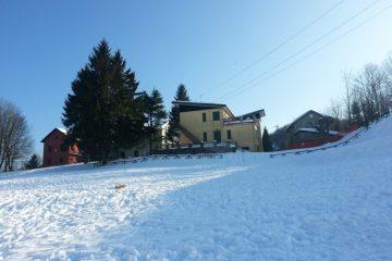 Sulla neve alla Cappelletta di Masone