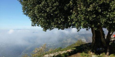 AnelAlo dei Misteri: vista dalla Chiesa di Santa Croce