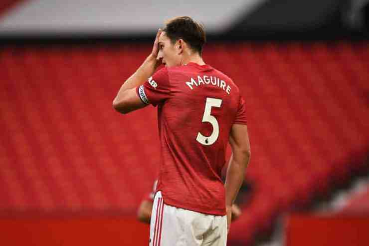 Harry Maguire equalled Manchester United club record during Leeds stalemate