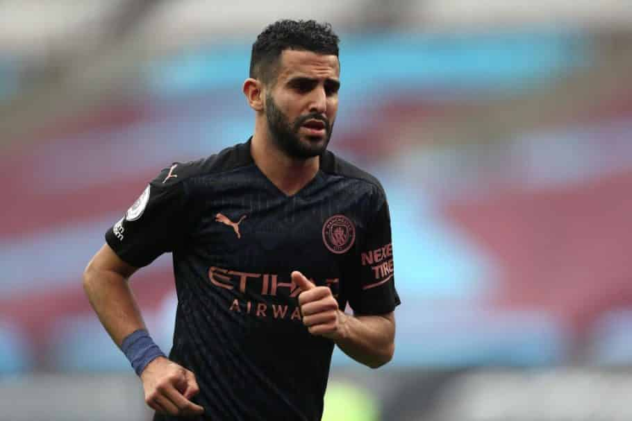 Riyad Mahrez joined Sadio Mane in an exclusive club after guiding Man City to CL final