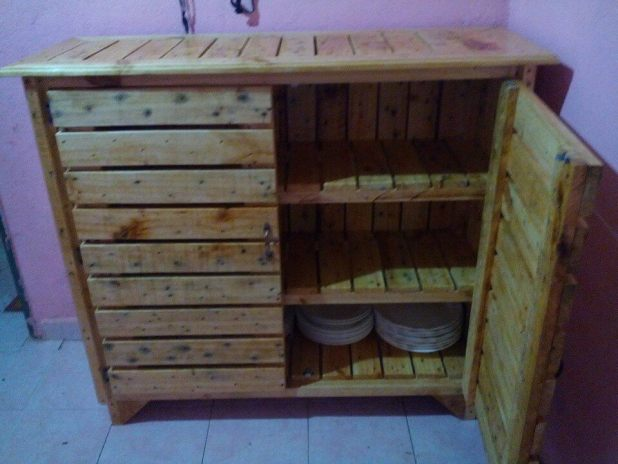 Kitchen Cabinets Made From Pallets storage cabinets made from pallets | nrtradiant