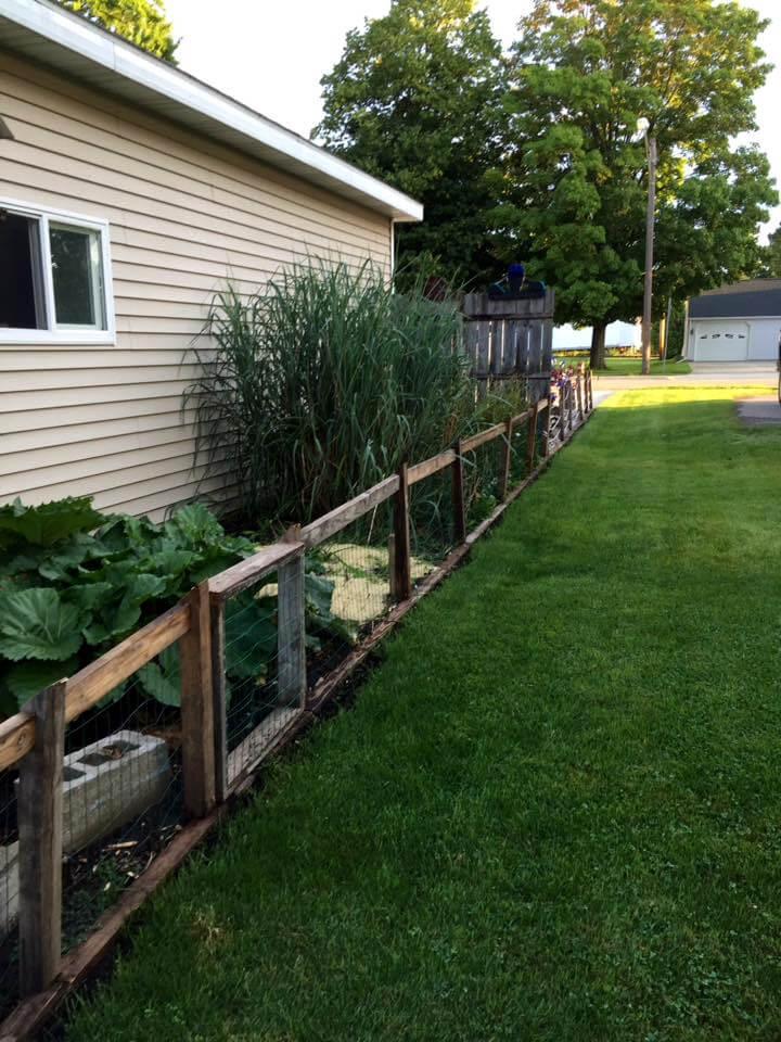 How Make Raised Garden Row