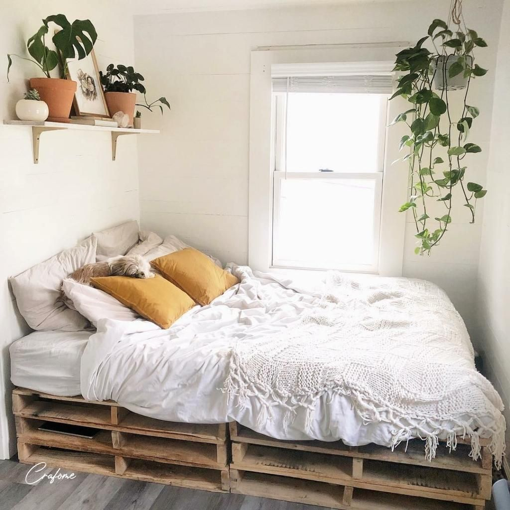 30 DIY Pallet Bed Ideas and Designs in 2021