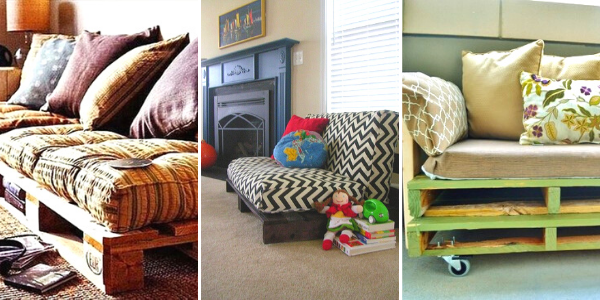 How to Make Pallet sofa