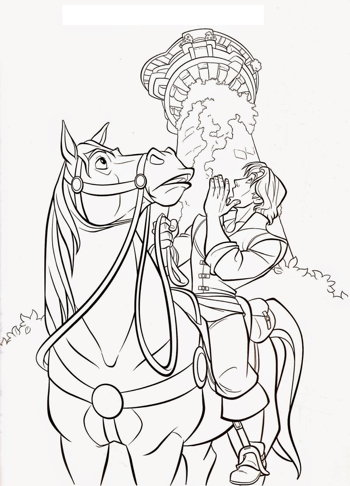 Tangled Printables For Kid S Fun Coloring