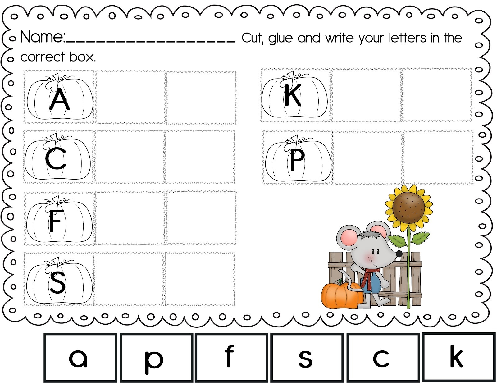 Free Abc Worksheets For Kids
