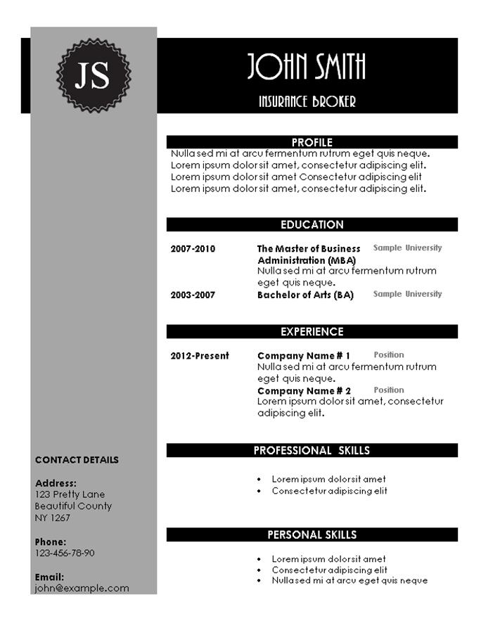 creative resume templates 101 resume templates