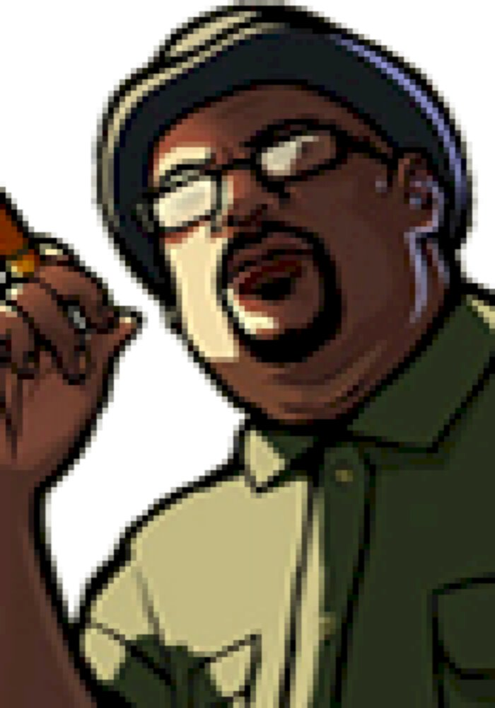 I Couldn T Find A Better Face For Bigsmoke Gta San Andreas Wrong